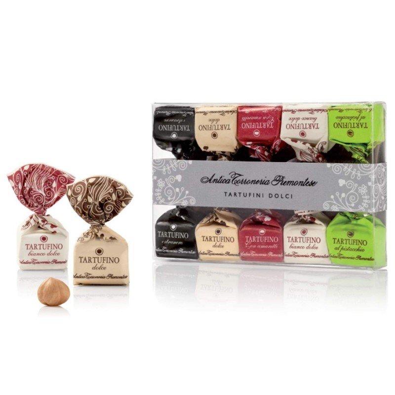 Tartufini di cioccolato assortiti Antica Torroneria Piemontese - Castroni Roma