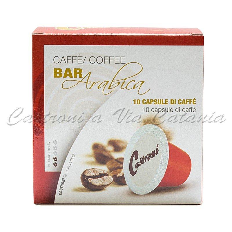 Capsule di caffè compatibili Nespresso Castroni a Via Catania