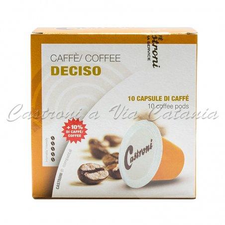 Miscela robusta gusto deciso capsule compatibili Nespresso Castroni a Via Catania