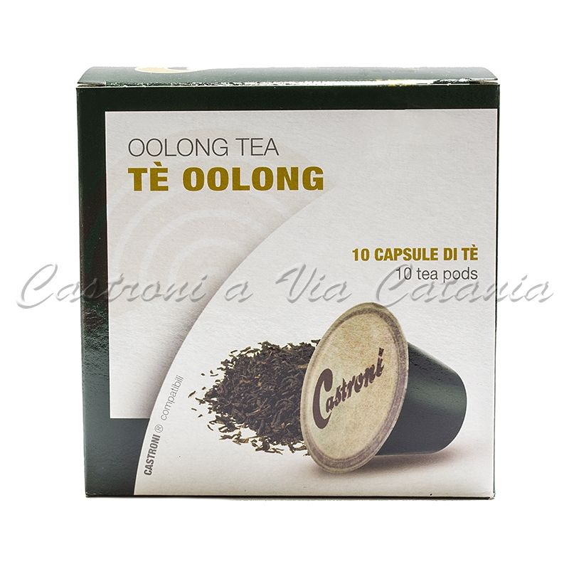 Tè Oolong in capsule compatibili Nespresso Castroni a Via Catania