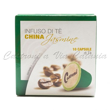 Tè verde al gelsomino in capsule compatibili Nespresso - Castroni Roma
