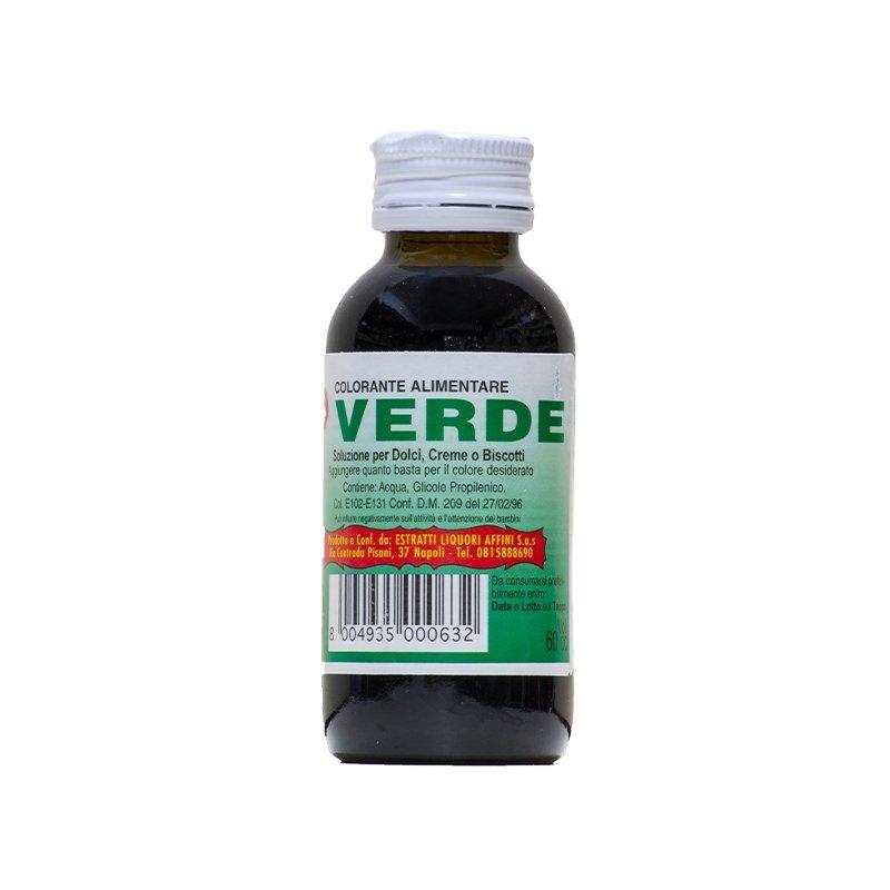 colorante liquido verde castroni a via catania