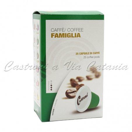 Caffè Castroni in capsule compatibili Nespresso