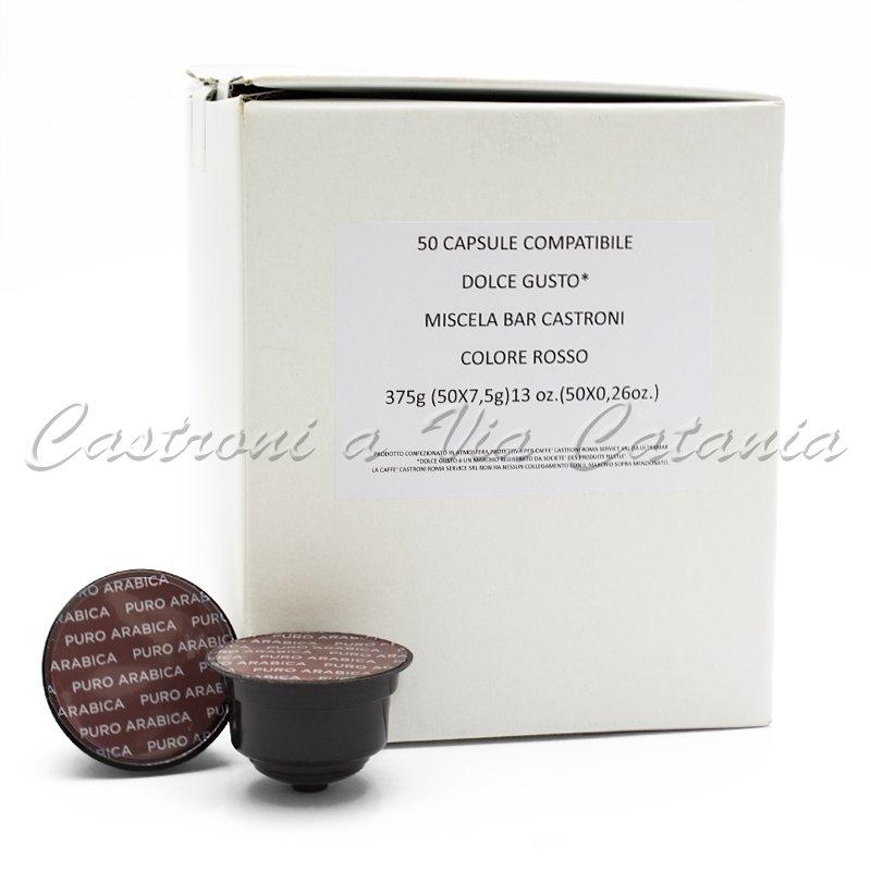 Miscela Bar Castroni - Capsule Compatibili Nescafé® Dolce Gusto®*