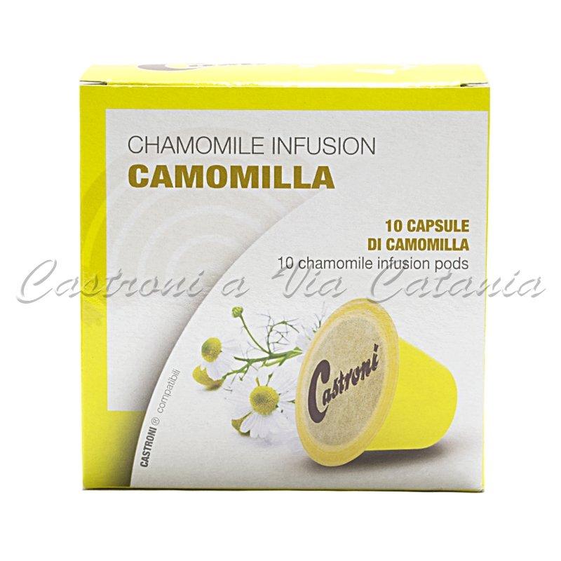 Camomilla in capsule compatibili Nespresso Castroni a Via Catania