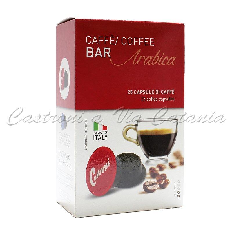 Capsule compatibili Lavazza a Modo Mio - Miscela Bar 100% Arabica - Caffè Castroni