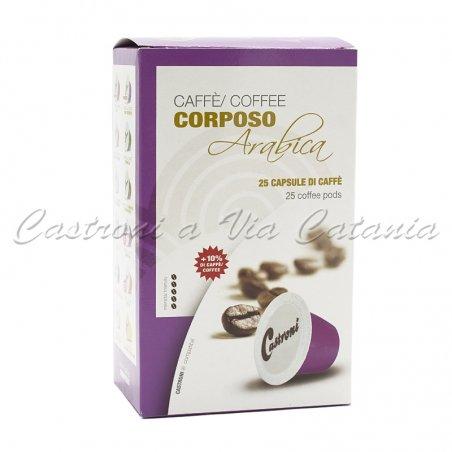 Capsule Caffè Castroni compatibili Nespresso - Miscela Corposo
