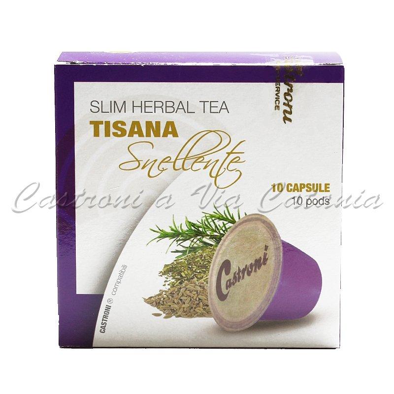 Capsule Tisana Slim compatibili con macchine Nespresso - Castroni