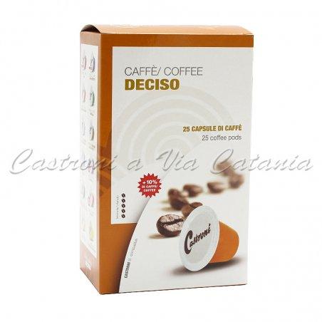 Capsule Caffè Castroni compatibili Nespresso - Miscela Robusta Deciso