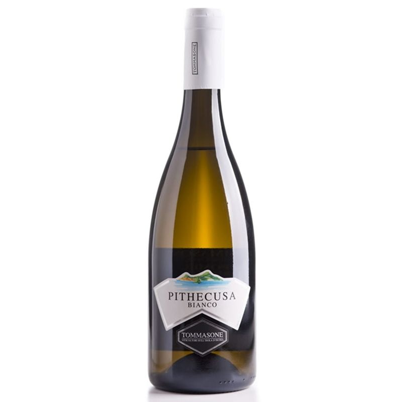 Vino bianco d'Ischia Pithecusa Cantina Tommasone - Castroni a Via Catania
