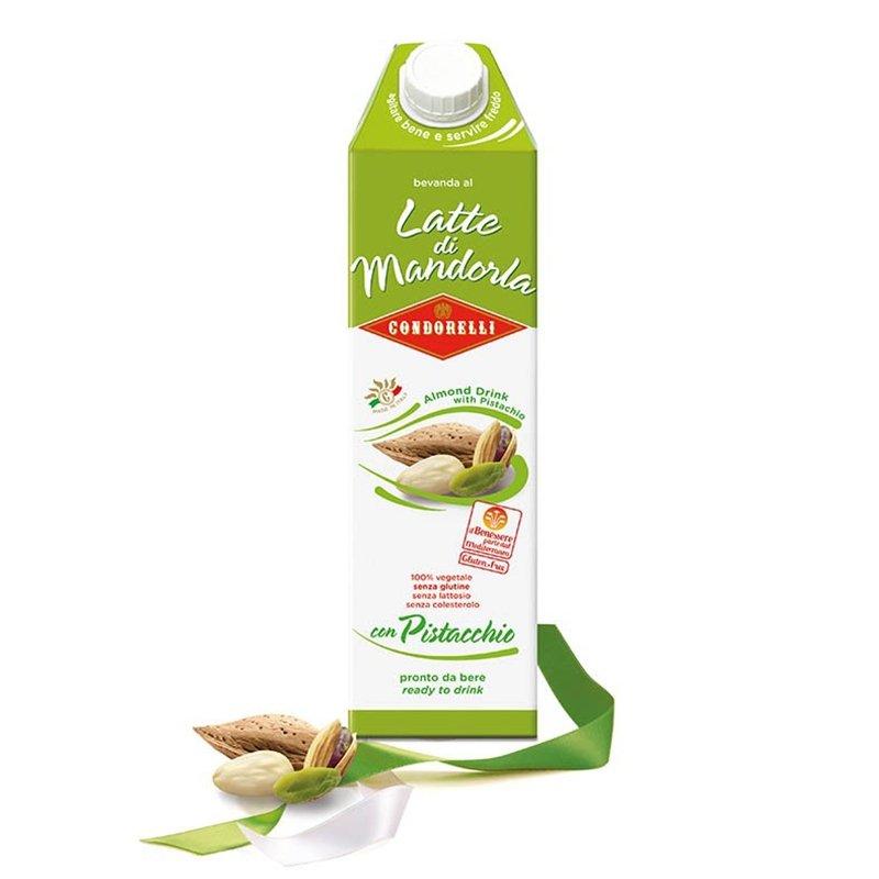 Latte di Mandorla Condorelli al pistacchio - Castroni a Via Catania