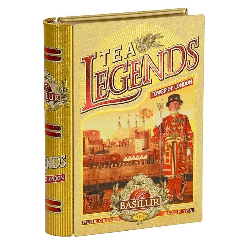 Tea Legends Basilur- Tower of London - Castroni