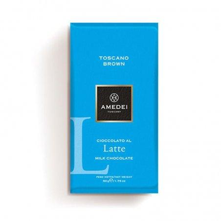 Tavoletta Toscano Brown al Latte Amedei - Castroni
