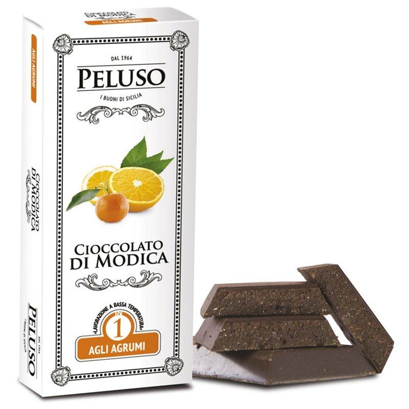 Tavoletta Cioccolato di Modica agli Agrumi - Peluso - Castroni Via Catania