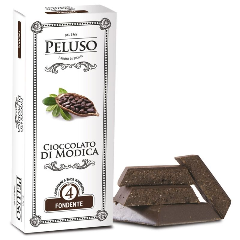 Tavoletta di cioccolato di Modica Fondente - Peluso - Castroni Roma