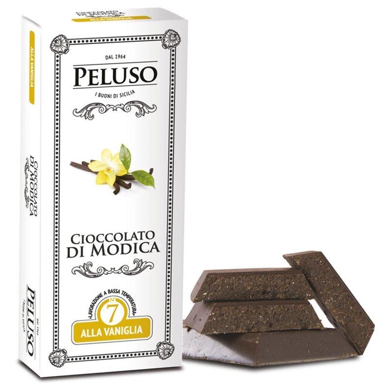 Tavoletta di Cioccolato di Modica alla Vaniglia Peluso - Castroni Roma