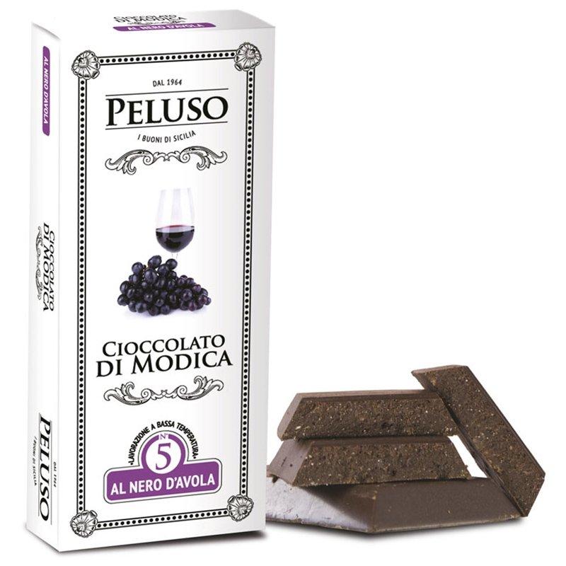 Tavoletta Fondente Cioccolato di Modica al Nero d'Avola - Peluso - Castroni Via Catania
