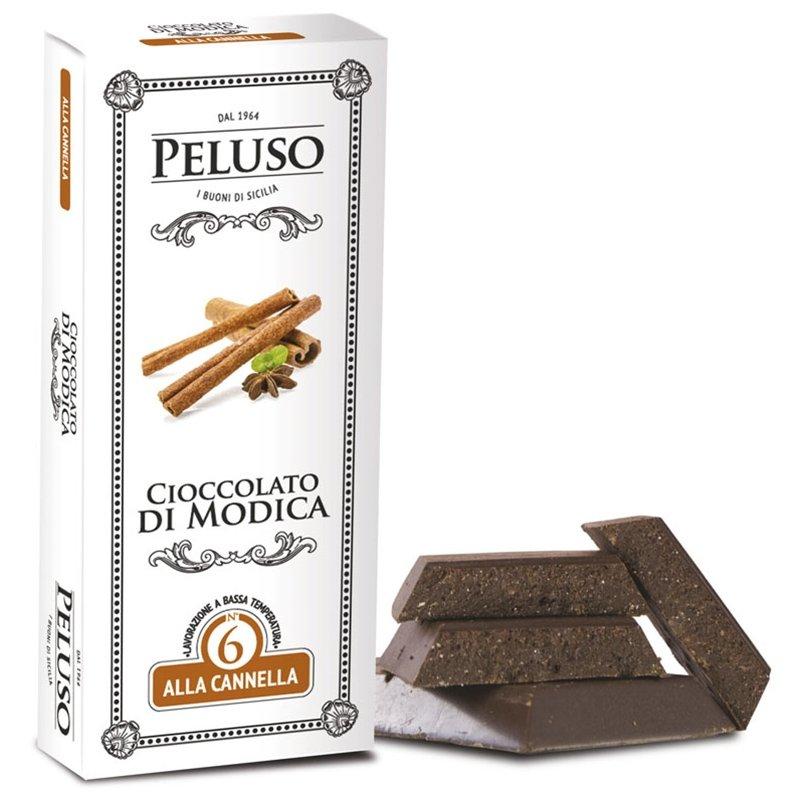 Tavoletta di Cioccolato di Modica aromatizzata alla Cannella - Peluso - Castroni Roma