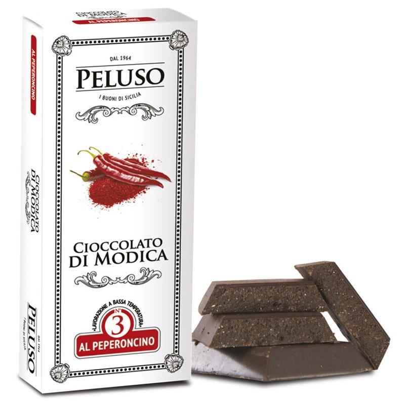 Tavoletta di cioccolato di Modica al Peproncino - Peluso - Castroni Roma