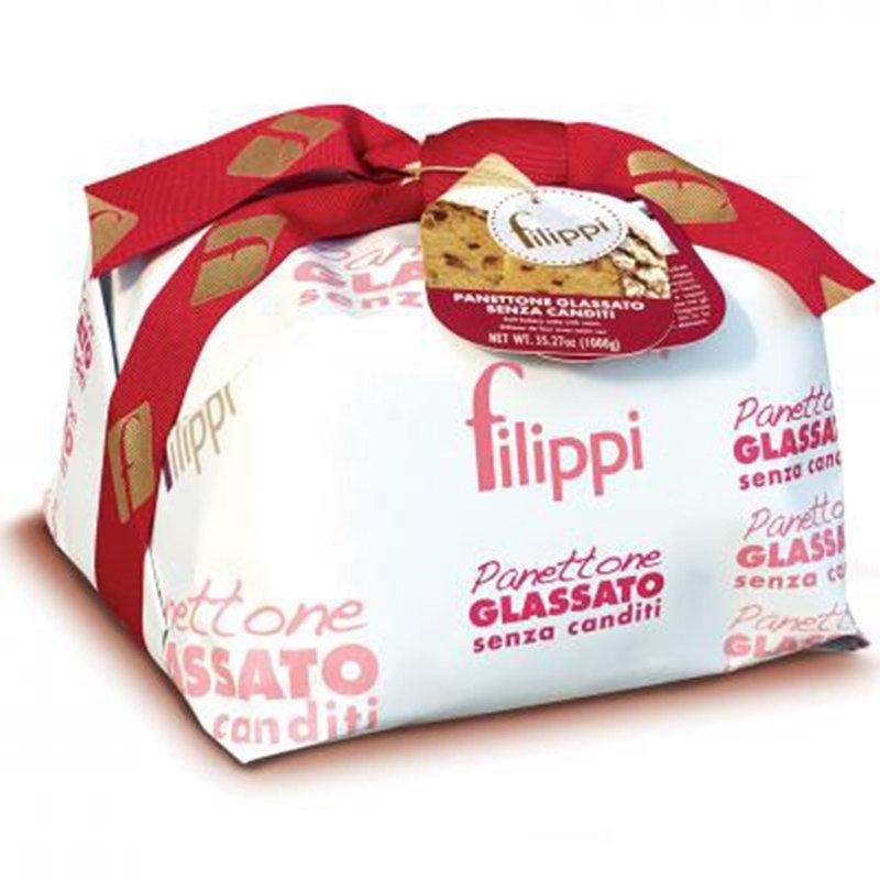 Panettone Pasticceria Filippi senza canditi - Natale - Castroni Roma