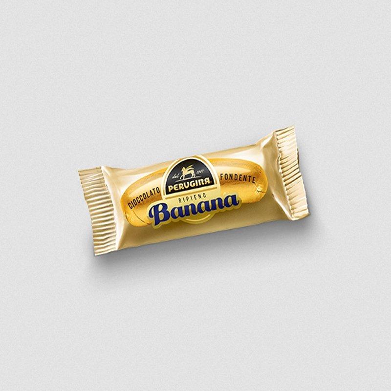 Cioccolatino extra fondente al gusto di banana - Castroni Via Catania