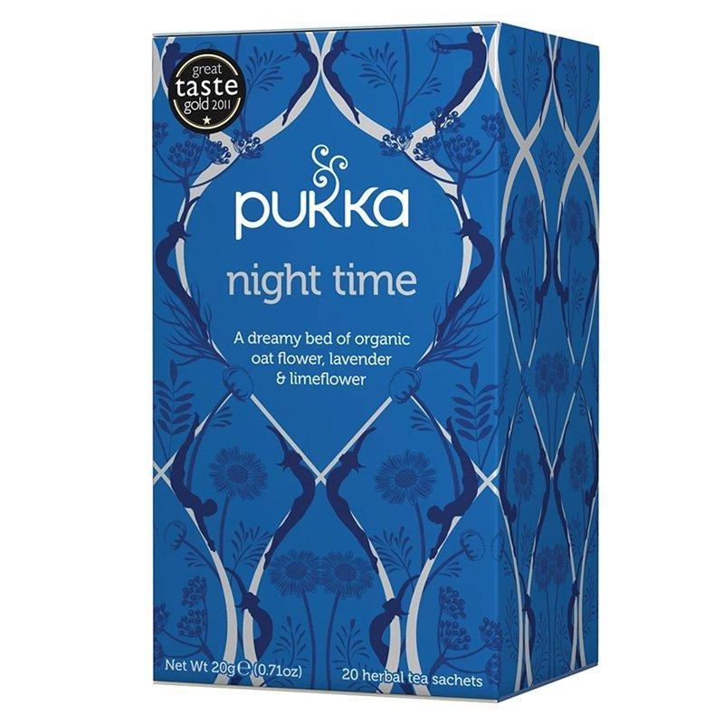 """Night Time"" Pukka - Infuso Rilassante - Castroni Roma"