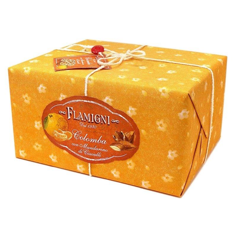Colomba Flamigni con mandarino candito - Castroni a Via Catania