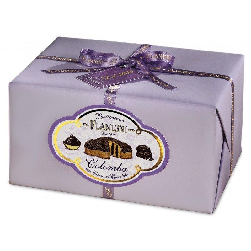 Bauletto Colomba Flamigni farcita con cioccolato fondente - Castroni a Via Catania