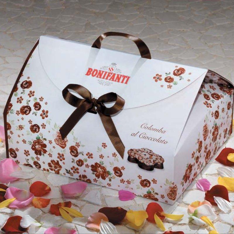 Colomba al cioccolato Bonifanti - Confezione in bauletto - Castroni Roma