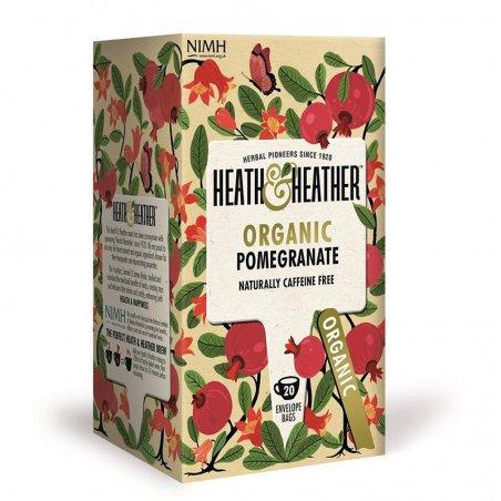 Infuso biologico di melograno - Heath & Heather - Castroni Roma