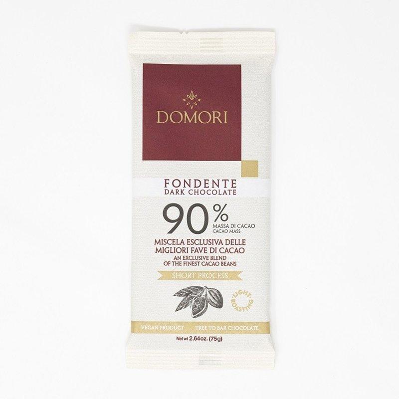 Domori Tavoletta 75g 90% Cacao - Castroni Roma