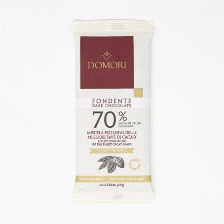 Domori Tavoletta 75g 70% Cacao - Castroni Roma