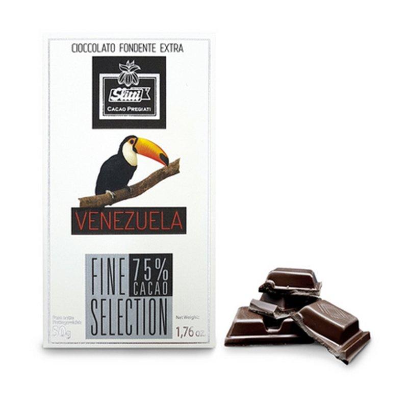 Tavoletta di cioccolato fondente Venezuela 75%  - Slitti - Castroni Via Catania