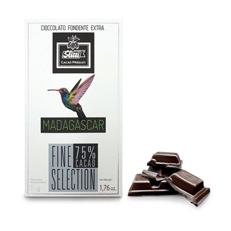 Tavoletta di cioccolato fondente Madagascar 75%  - Slitti - Castroni Via Catania