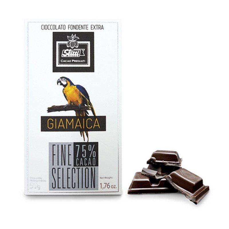 Tavoletta di cioccolato fondente Giamaica 75%  - Slitti - Castroni Via Catania