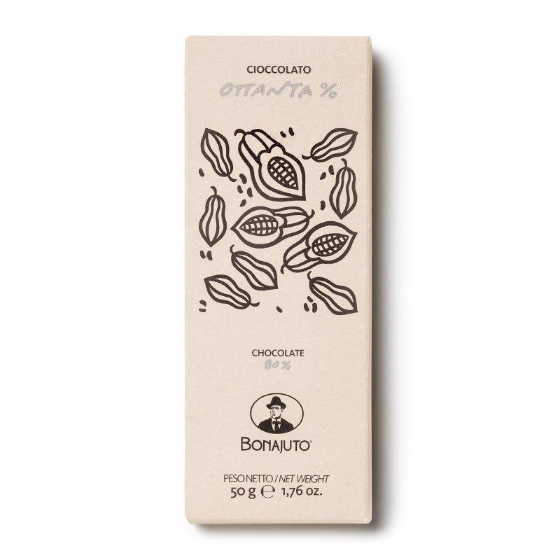 Cioccolato di Modica - Tavoletta all'80% - Bonajuto