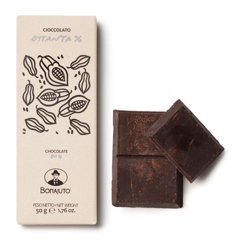 Cioccolato di Modica Bonajuto - Tavoletta all'80% - Castroni Roma