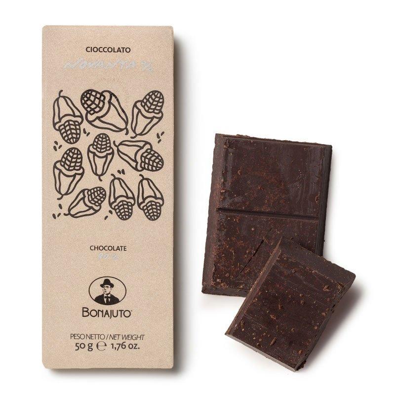Cioccolato di Modica Bonajuto - Tavoletta al 90% - Castroni Roma