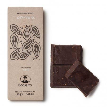 Cioccolato di Modica Bonajuto - Tavoletta 100% cacao - Castroni Roma