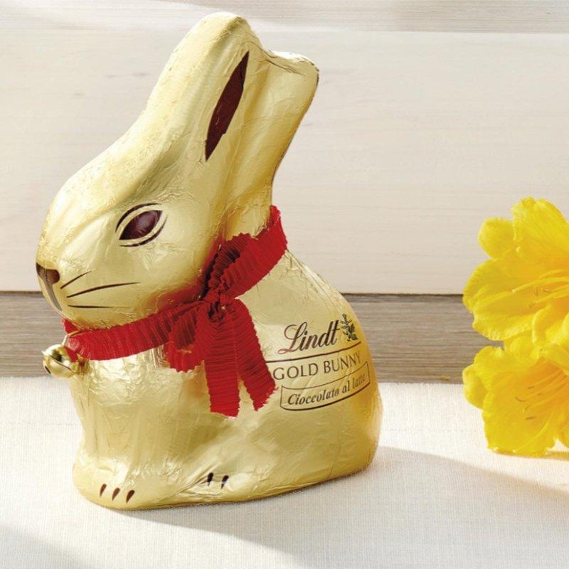 Coniglietto Gold Bunny 200g Lindt - Pasqua Castroni Via Catania
