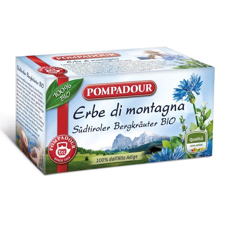 Infuso Erbe di Montagna dell'Alto Adige Bio - Pompadour - Castroni Roma
