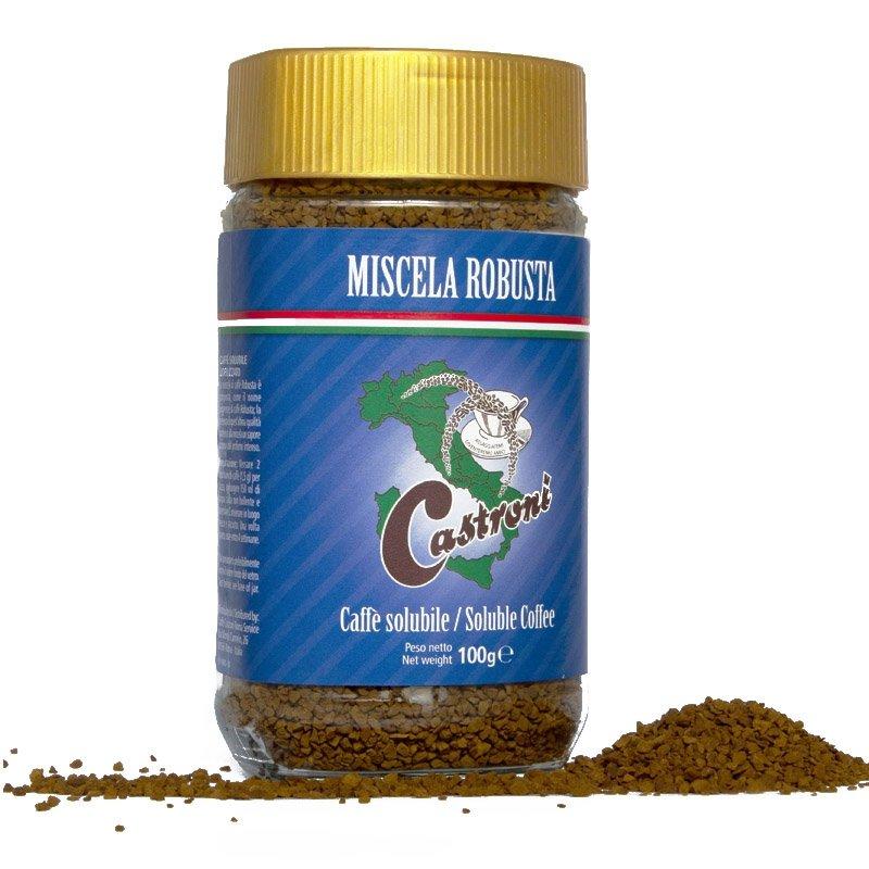 Barattolo Miscela Robusta Castroni - Caffè solubile liofilizzato