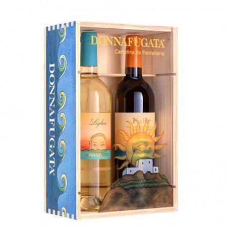 Cassetta regalo in legno Donnafugata - Castroni Roma