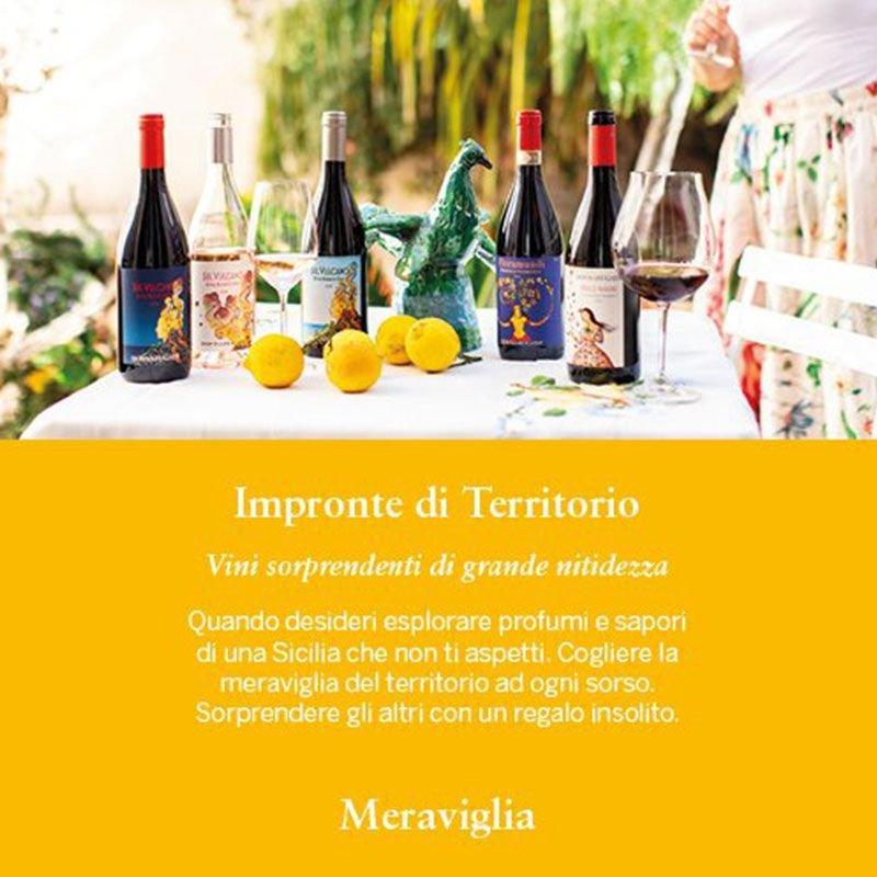 Cartolina Vittoria - Vini Donnafugata - Castroni Roma