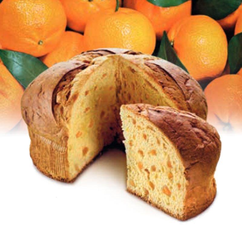 Panettone Flamigni al Mandarino di Ciaculli - Natale Castroni