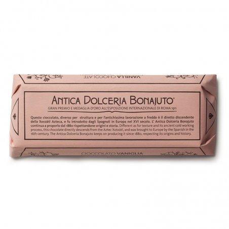 Cioccolato di Modica Bonajuto -Tavoletta alla Vaniglia - Castroni Via Catania