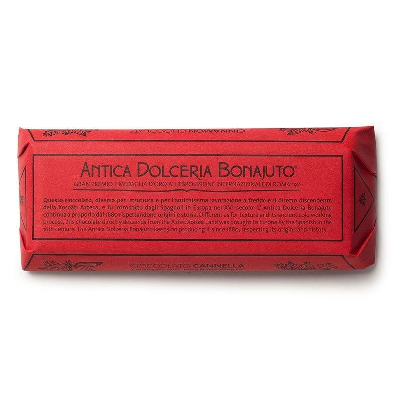 Cioccolato di Modica Bonajuto -Tavoletta alla Cannella - Castroni Via Catania