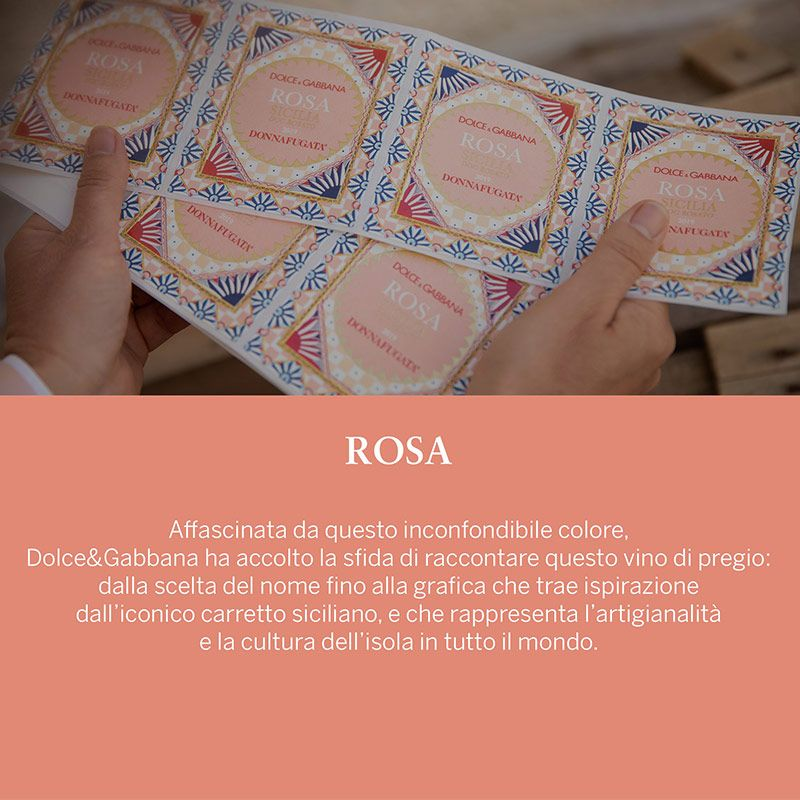 Rosa Dolce&Gabbana e Donnafugata 2020 - Castroni Via Catania - Roma