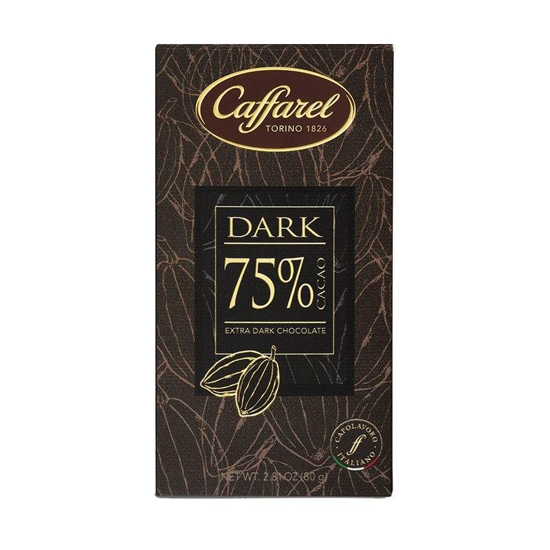 Tavoletta di Cioccolato Extra Fondente 75% Caffarel - Castroni Via Catania