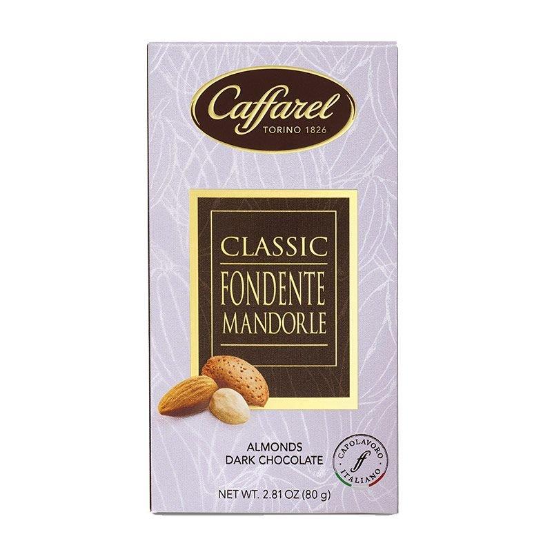 Tavoletta Caffarel di Cioccolato Fondente con Mandorle - Castroni Via Catania